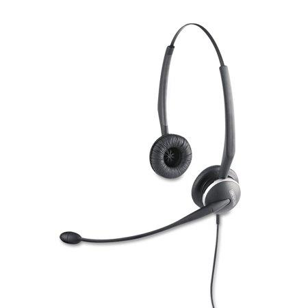 Binaural Microphones (Jabra GN2125 Binaural Over-the-Head Telephone Headset w/Noise Canceling)