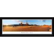 Monument Valley - Totem Pole - Blakeway Panoramas Print with Select Frame and Single Mat