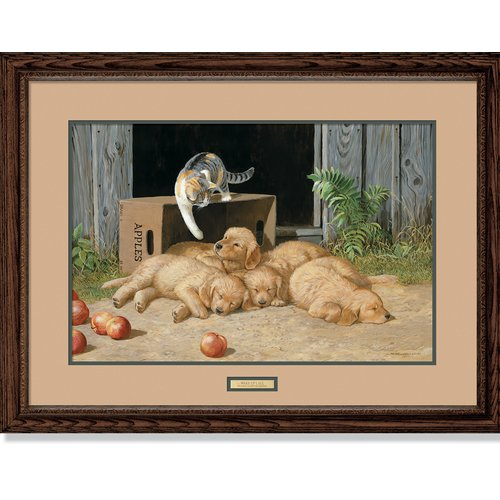 Wild Wings Wake Up Call by Persis Clayton Weirs Framed Painting Print by