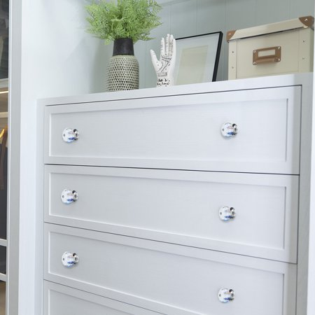 Ceramic Knobs Pumpkin Drawer Handle Cupboard Wardrobe Door Replacement 4pcs #3 - image 5 de 7