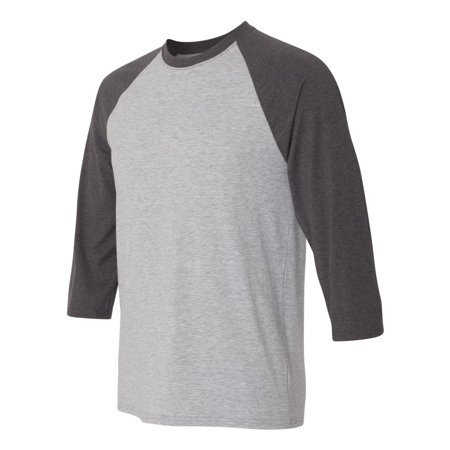 Hanes - X-Temp 3/4 Sleeve Baseball T Shirt 3/4 Sleeve Spandex Skirt