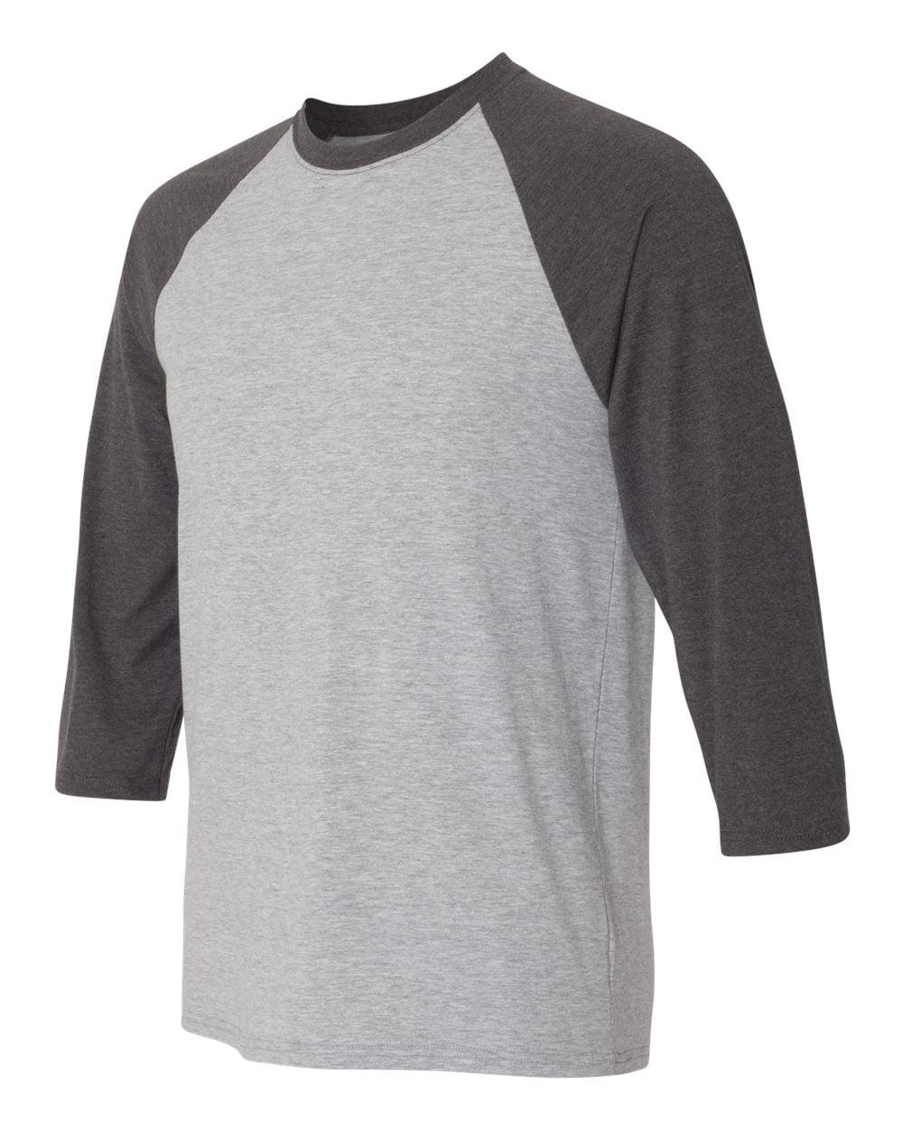 Hanes - X-Temp 3/4 Sleeve Baseball T Shirt