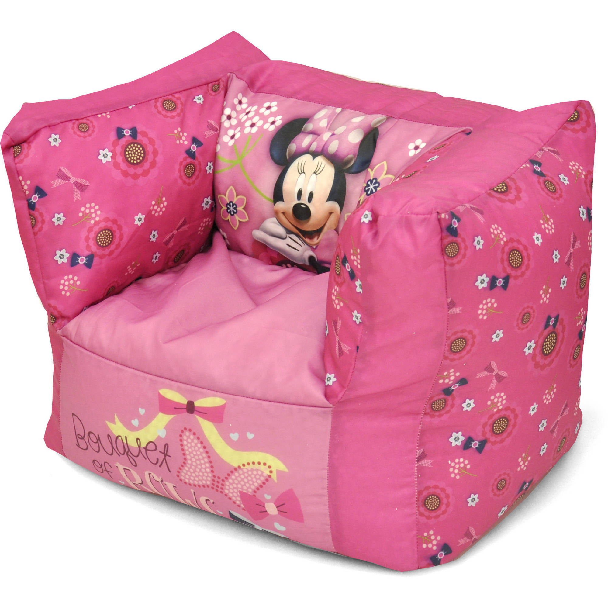 Minnie Mouse Square Beanbag Chair by Disney
