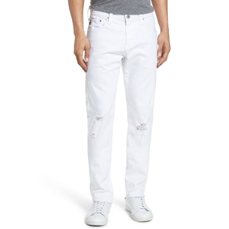 Adriano Goldschmied NEW White Mens 32x33 Modern Slim Tellis Jeans