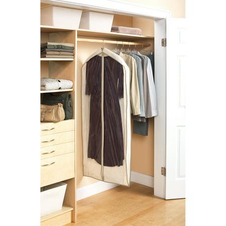 Mainstays Canvas Dress Bags, Brownstone Trim, 3-Pack