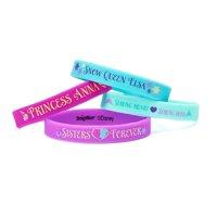 Frozen Party Favor Rubber Bracelets, 4ct