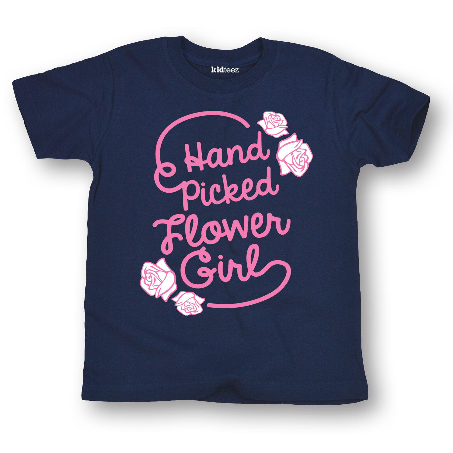 Hand Picked Flower Girl - Toddler Short Sleeve Tee