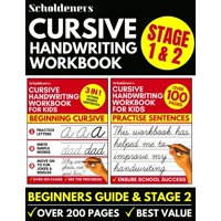 Cursive Handwriting Workbook: Cursive Writing Practice Book For Kids (Cursive For Beginners & Cursive Sentence Handwriting Workbook) (Paperback)