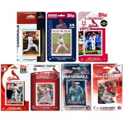 C&I Collectables MLB St. Louis Cardinals 7 Different Licensed Trading Card Team Sets
