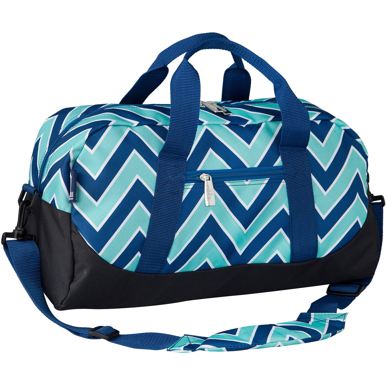 Wildkin Zigzag Lucite Overnighter Duffel Bag by Wildkin