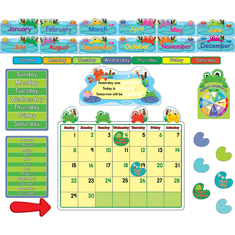 Funky Frogs Calendar - image 1 de 1