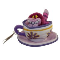 Disney Bean Bag Plush - CHESHIRE CAT TEA CUP (Alice in Wonderland)(6 inch)