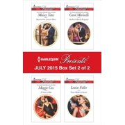 Harlequin Presents July 2015 - Box Set 2 of 2 - eBook