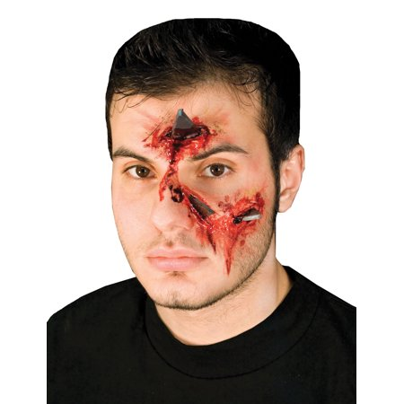 Metal Attack Prosthetic Halloween Accessory