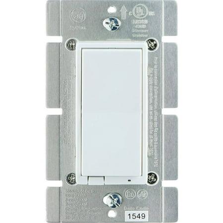 ge z wave 1 000 watt in wall smart dimmer switch. Black Bedroom Furniture Sets. Home Design Ideas