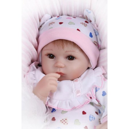 Heart Europe and America Fashionable Play House Toy Lovely Simulation Baby Doll with Clothes Size (Lovely House)
