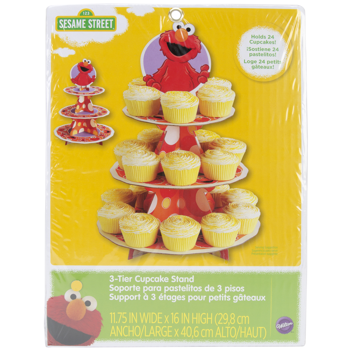 Elmo Treat Stand Multi-Colored