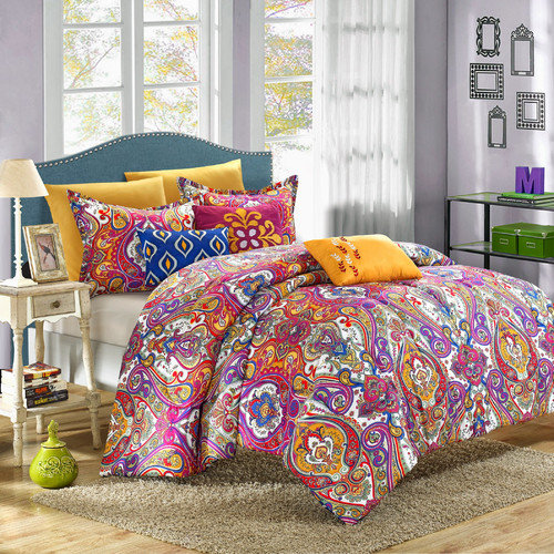 Chic Home Mumbai 8 Piece Reversible Comforter Set