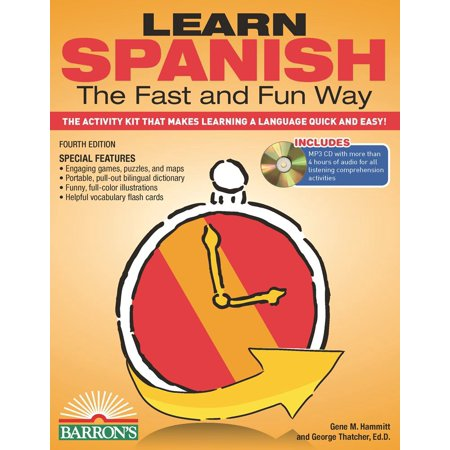 Learn Spanish The Fast And Fun Way With Mp3 Cd  Th