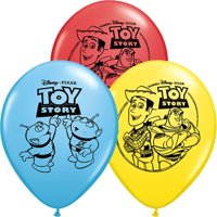 """Single Source Party Suppies - 11"""" Toy Story Assortment Latex Balloons - Bag of 10, By Single Source Party Supplies"""