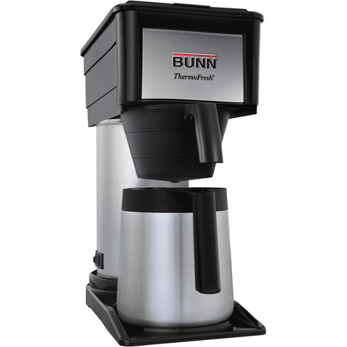BUNN BT-D Velocity Brew 10-Cup Thermal Coffee Brewer, High Altitude, 38200.0017
