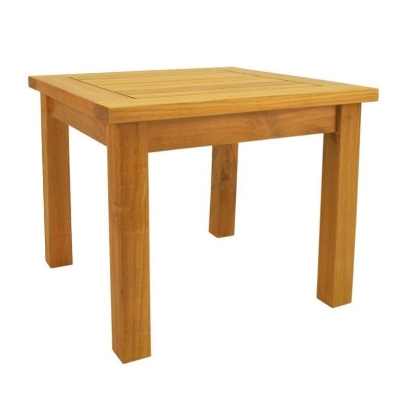 Anderson Teak Bahama Outdoor Mini Table by Anderson Teak
