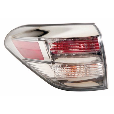 Go-Parts » 2010 - 2012 Lexus RX350 Rear Tail Light Lamp Assembly / Lens / Cover - Left (Driver) Side Outer 81560-0E021 LX2804105 Replacement For Lexus RX350