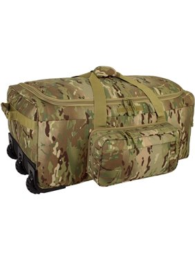 Mercury Tactical Gear Mini Monster Rolling Duffle Bag