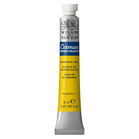 Winsor & Newton Cotman Watercolor, 8ml Tube, Gamboge Hue