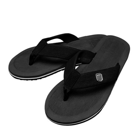 138745f0c873 CoastaCloud - Soft Flip-Flops Sandals Light Weight Shock Proof Antiskid  Slippers For Men - Black - Walmart.com