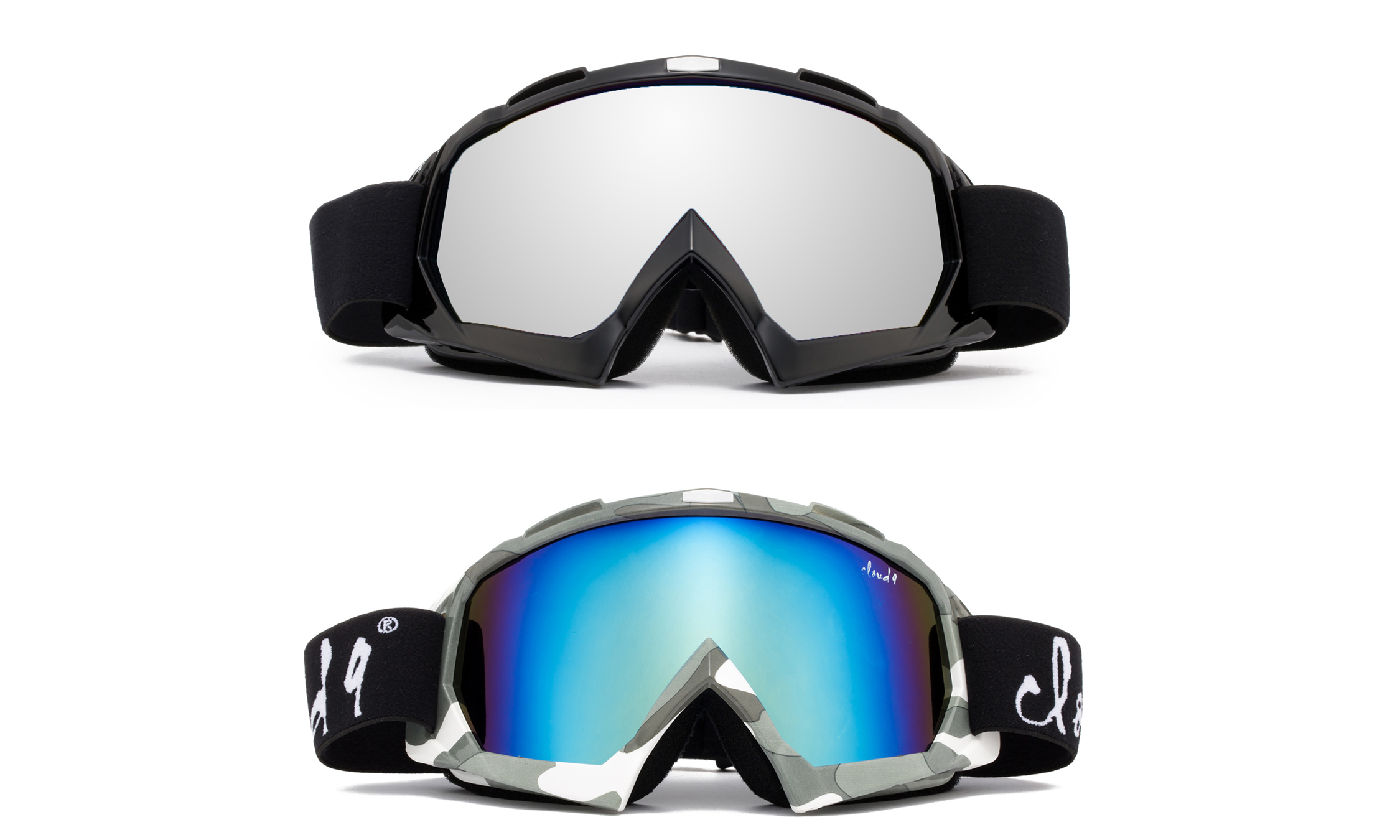 "Cloud 9 Snow Goggles ""Gorilla"" Adult Camo Anti-Fog Dual Lens UV400 Snowboarding Ski (1 Pair only, choose your... by"