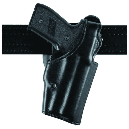 Safariland 200 Top Gun Mid-Ride, Level I Retention Holster - Basket Black, Right Hand 200-74-181 - 200-74-181 - Safarila