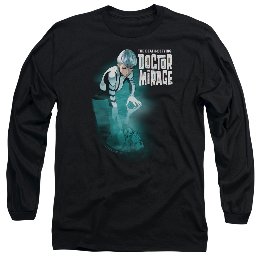Doctor Mirage Crossing Over Mens Long Sleeve Shirt
