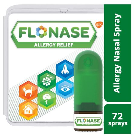 Flonase 24hr Allergy Relief Nasal Spray, Full Prescription Strength, 72 sprays