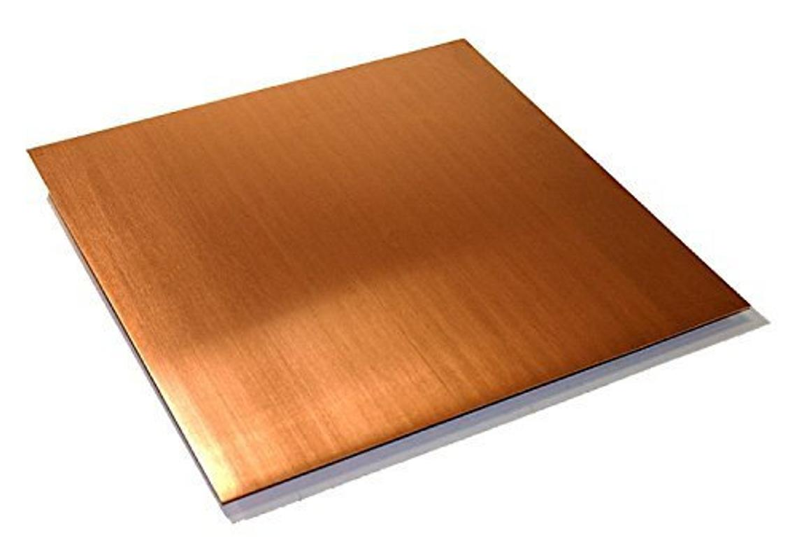 0.032 20 Ga 1x72 24oz Copper Sheet Unpolished Mill Finish