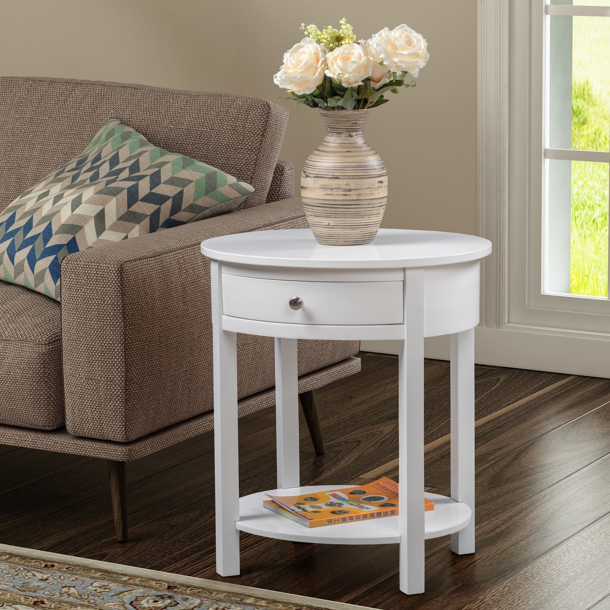 Convenience Concepts Classic Accents Cypress End Table, Multiple Finishes