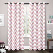 Exclusive Home Mars Woven Blackout Thermal Window Curtain Panel Pair with Grommet Top