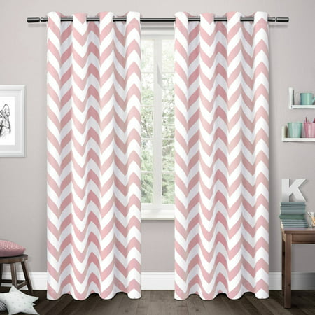 Mars Woven Room Darkening Girls Bedroom Curtain Panels Set Of 2
