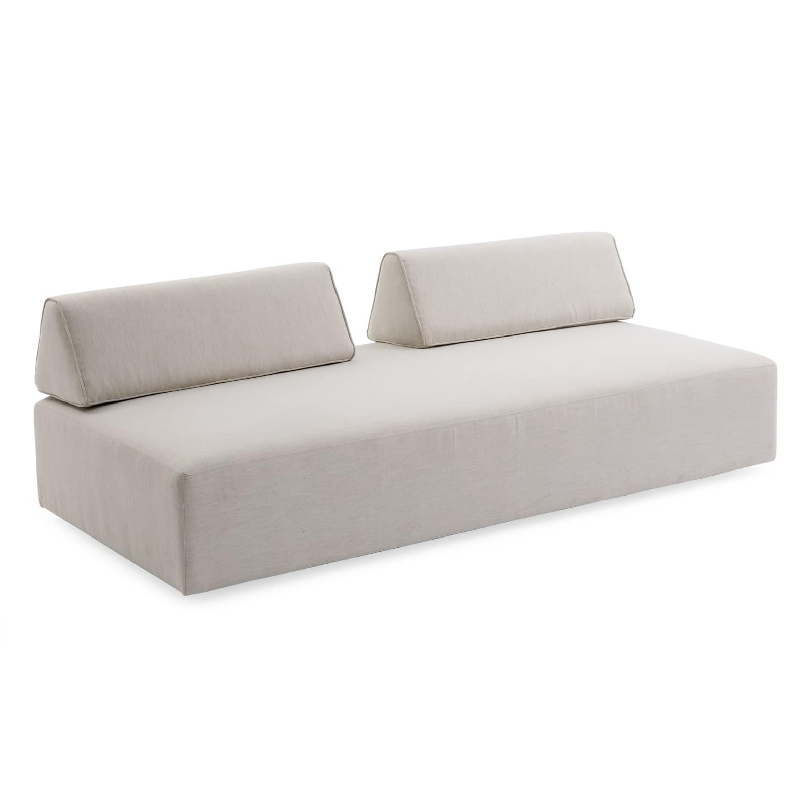 - Belham Living Carlotta Upholstered Loveseat Outdoor Daybed With