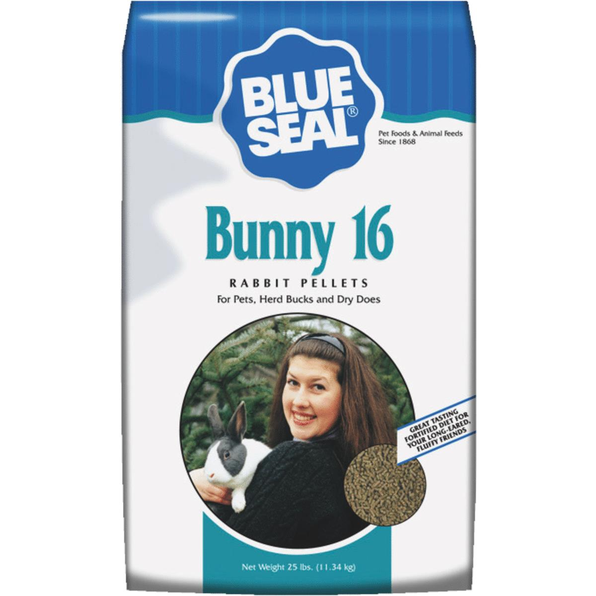 Blue Seal Bunny 16 Rabbit Food by Kent Feeds