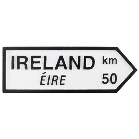 Resin Road Sign - Ireland