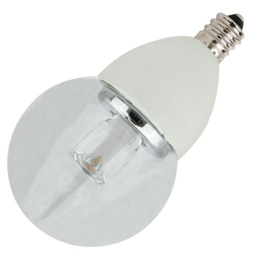 tcp globe style dimmable 4w 2700k g16 and candelabra e12 base - E12 Led Bulb
