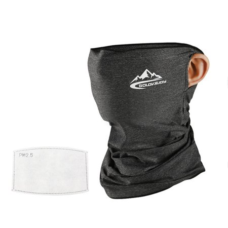 LeKing Riding Headscarf Soft Breathable Neck Gaiter with Filter Ice Silk Sunscreen Scarf - image 1 of 2