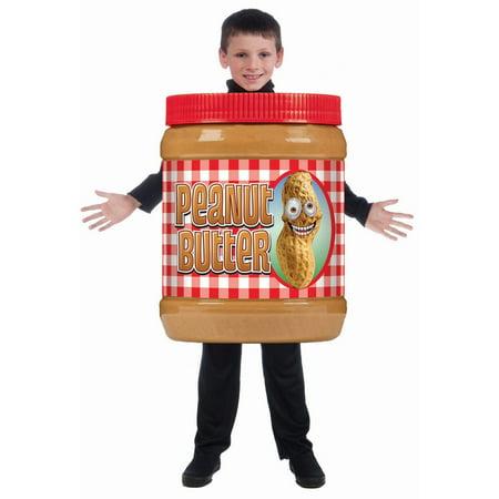 Peanut Butter Costume (Halloween Peanut Butter Child)