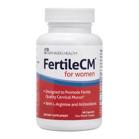 FertileCM Fertility Supplement for Cervical Mucus, 90