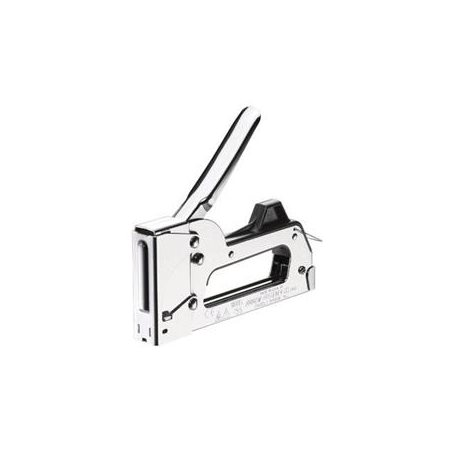 Arrow Fastener Easy Squeeze Chrome Staple Gun by Arrow Fastener