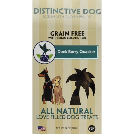 Duck Quackers (Dog Treat Dog, Duck Berry Quacker Training Grain Free Natural Dog)