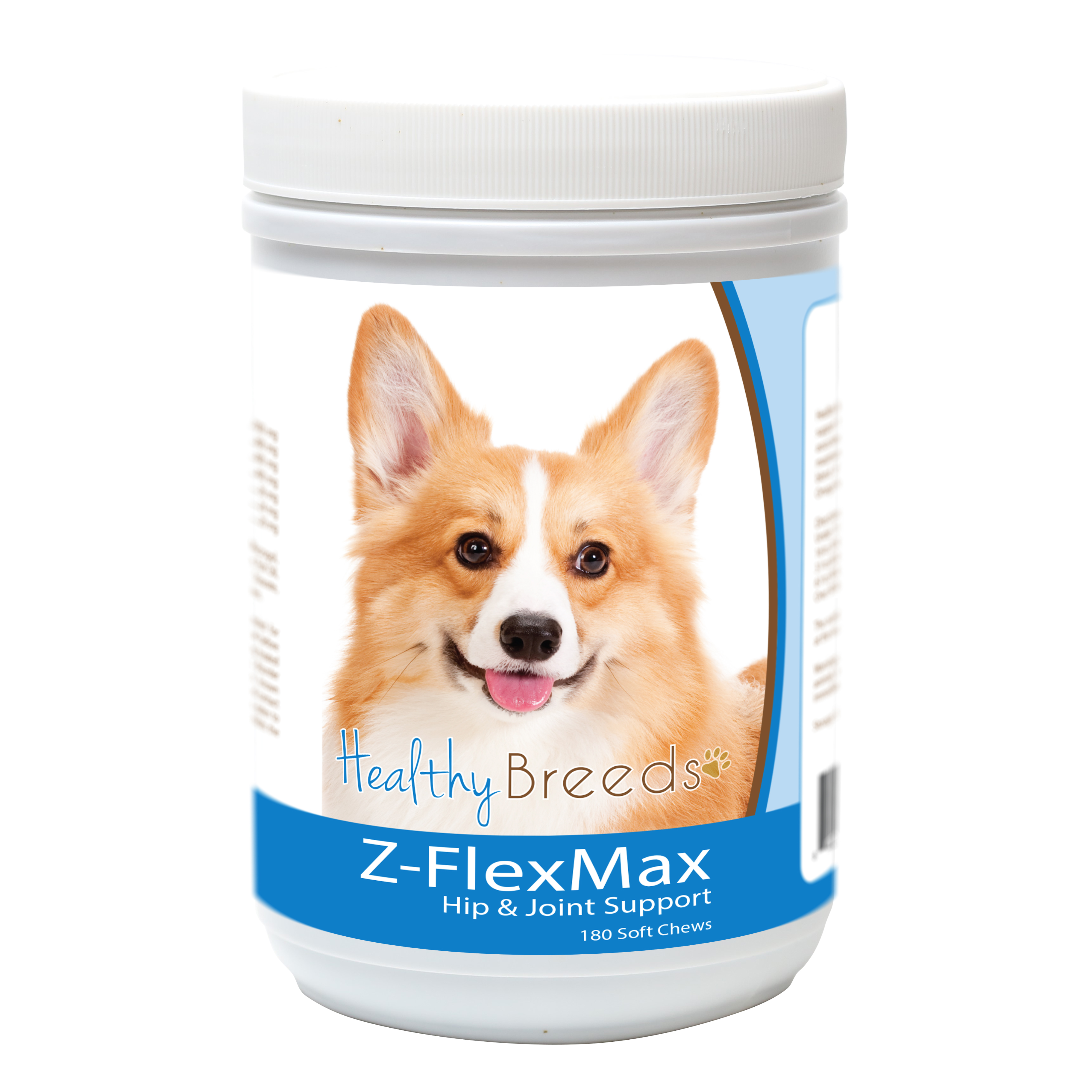 Healthy Breeds Pembroke Welsh Corgi Z-Flex Max Dog Hip and Joint Support 180 Count