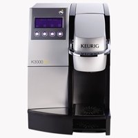 Keurig K3000SE Commercial Brewer, 35 x 18, Silver/Black -GMT23000