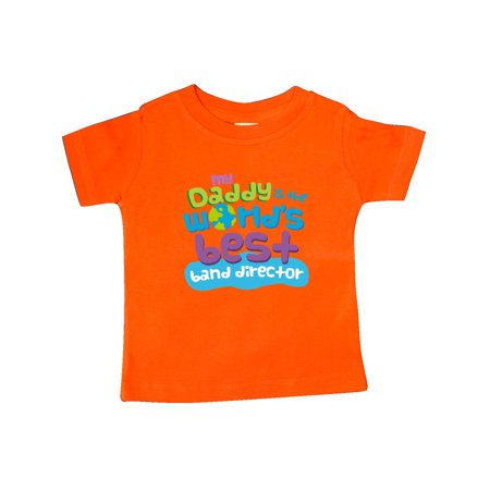 Worlds Best Band Director Daddy Baby T-Shirt